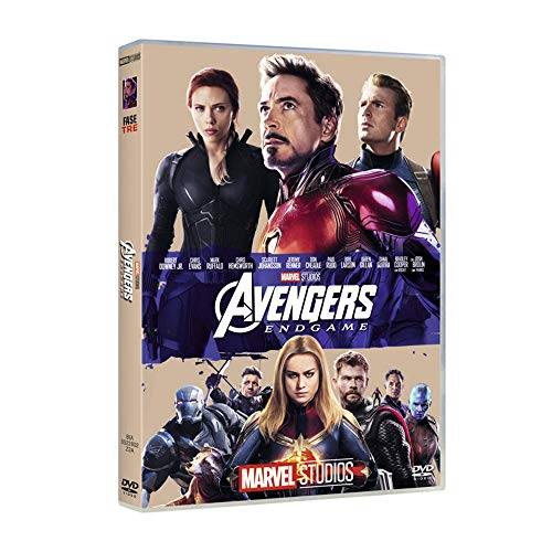 Avengers Endgame 10° Anniversario Marvel Studios ( DVD)