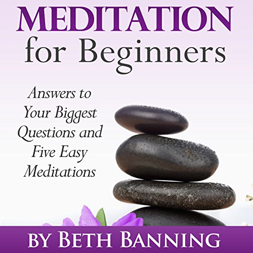 Meditation for Beginners: Answers to Your Biggest Questions and Five Easy Meditations audiobook cover art