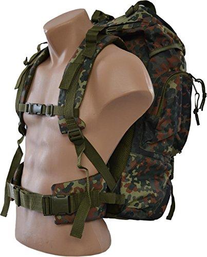 normani Tactical Rucksack, 65 Liter, Flecktarn