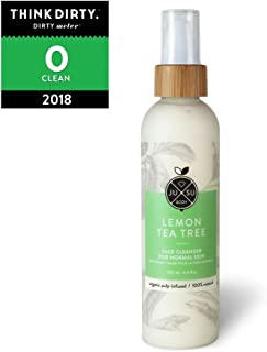 JUSU Body Lemon Tea Tree Daily Face Cleanser for Normal/Sensitive/Combination Skin - 100% Natural