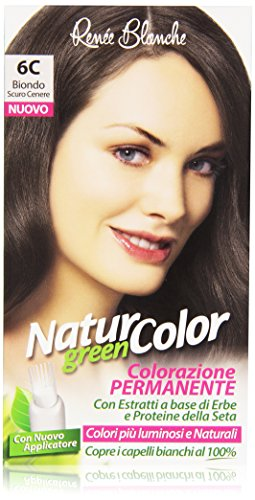 teinture pour les cheveux coloration permanent naturel natur color green6 c blond cenere sombre