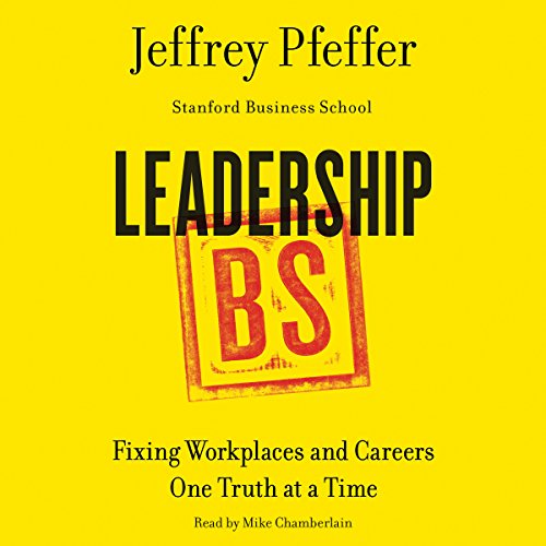 Leadership BS audiobook cover art