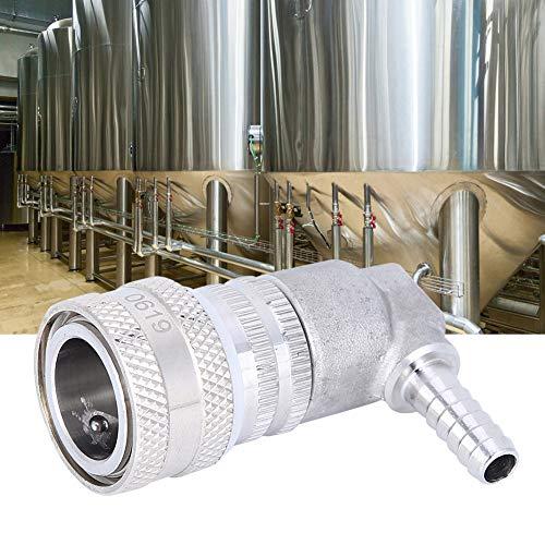 Semiter Conector rápido, acoplador de Barril, para Suministros industriales Elaboración de Cerveza casera