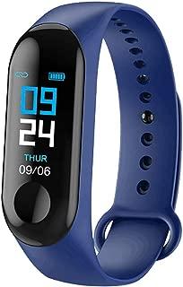 Fan-Ling 1PCS High Quality Smart Watch,Multifunction Smart Wristbands, Sports Fitness Watch, Activity Heart Rate Tracker,Blood Pressure Measure (Dark Blue)