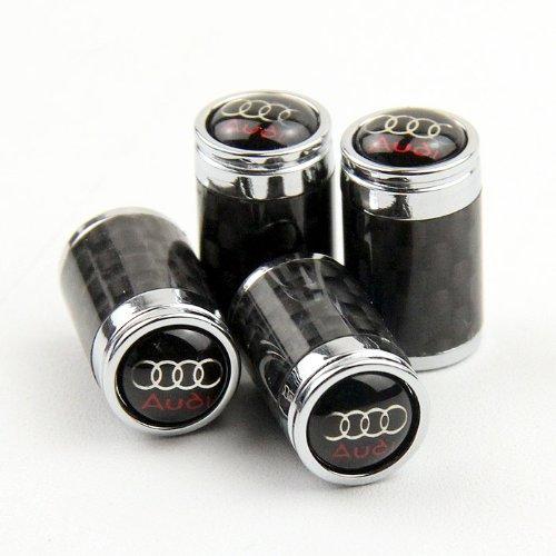 High Qualität Carbon Fiber Auto Air Tire Ventilkappen für Audi