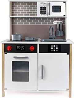 comprar comparacion WOOMAX - Cocina de madera con accesorios, luz y sonido (ColorBaby 49026)