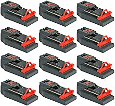 Victor Quick Kill Mouse Trap (Pack of 12 traps) Easy to Set mouse trap