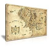 Leinwandbild, Motiv: Hobbit, Herr der Ringe, Mittelerde, 76
