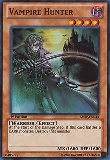 Yu-Gi-Oh! - Vampire Hunter (SHSP-EN034) - Shadow Specters - 1st Edition - Super Rare