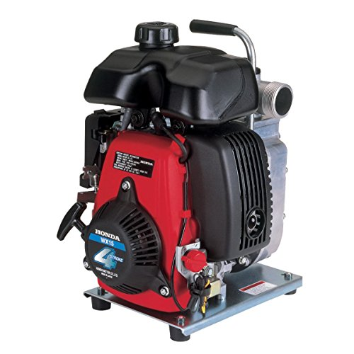 Honda Power Equipment WX15 Lightweight General Purpose 1.5' Water Pump with GX Series Commercial...