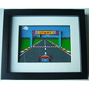 Pole Position 3D Diorama Shadow Box Art:Dailyvideo
