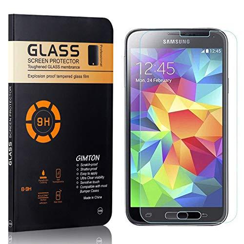 GIMTON Verre Trempé pour Galaxy S5 Mini, sans Poussière, Ultra Transparent, Dureté 9H Protection en Verre Trempé Écran pour Samsung Galaxy S5 Mini, 1 Pièces
