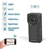 Wifi Hidden Spy Camera,  Ruidla Mini Body Camera...