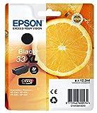 Epson C13T33514010 33XL Claria Premium Cartouche d'encre d'origine Noir Amazon Dash Replenishment est prêt