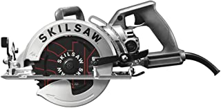 SKILSAW SPT77W-RT 7-1/4 in. Aluminum Worm Drive Circular Saw with Carbide Blade (Renewed)