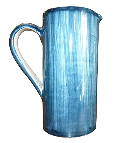 Stendhal Art.VT03a Brocca Ceramica di Vietri Dipinto a Mano