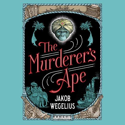 The Murderer's Ape audiobook cover art