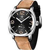 BY BENYAR Men's Analog Mechanical Automatic-self-Wind Watch with Rubber Bracelet BY5174