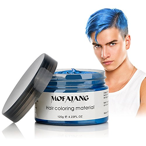 MOFAJANG Hair Coloring Wax Blue Review​