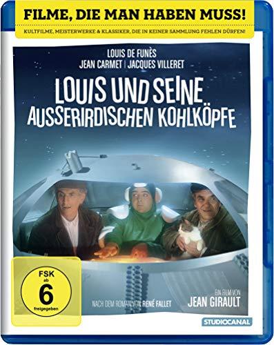 Louis und Seine Auerirdischen Kohlkpfe [Blu-Ray] [Import]