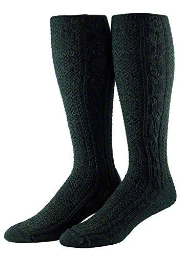 Shimasocks Herren Kniebundhosenstrümpfe, Farben alle:lodengrün, Größe:43/46
