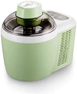 RFSTGYU Fully Automatic Ice Cream Maker, Frozen Yogurt, Sorbet Ice Cream Machine,Intelligent Cooling Ice Cream Machine, Safe Ice Cream DIY Production, Ice Crea (Color : Green)