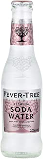 Fever-Tree Soda Water Refrescos - Paquete de 24 x 200 ml -