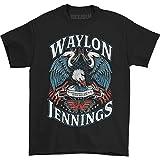 Waylon Jennings Men's Lonesome T-Shirt X-Large Black