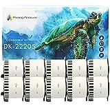 10x Compatible Rollo de Etiquetas DK-22205 62mm x 30.48m Cinta continua de papel blanca para Brother P-Touch QL-500 550 570 700 710W 720NW 800 810W 820NWB 1050 1100 1110NWB, alta capacidad adhesiva