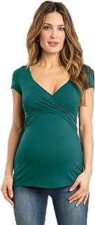 Gusspower Mujeres Maternidad Vestido Premamá y de Lactancia
