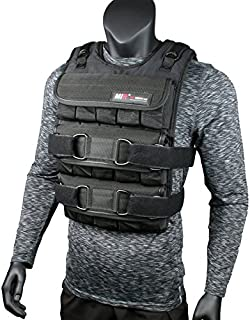 miR PRO Weighted Vest with Zipper Option 45lbs - 90lbs