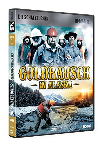 Goldrausch in Alaska - Staffel 1 (3 DVDs)