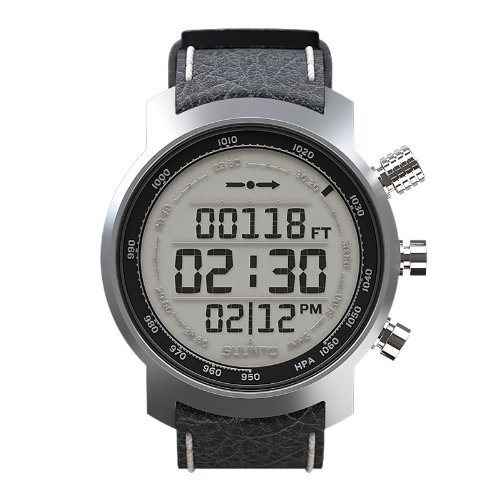 Suunto Elementum Terra Leather Watch - Black by Suunto
