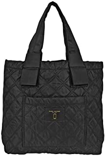Marc Jacobs Quilted Tote Leather/Nylon Black M0013510-001
