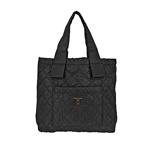 876b192871 Marc Jacobs Quilted Tote Leather/Nylon Black M0013510-001