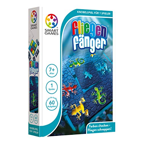 Smart Toys and Games SG 443 DE Logik Trainer, Kompakt, Gehirnjogging Puzzle, Bunt