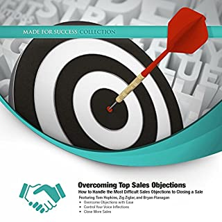 Overcoming Top Sales Objections audiobook cover art