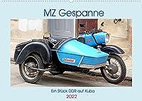 MZ-Gespanne - Ein Stueck DDR auf Kuba (Wandkalender 2022 DIN A2 quer): Motorraeder der Marke MZ mit Seitenwagen in Kuba (Monatskalender, 14 Seiten )