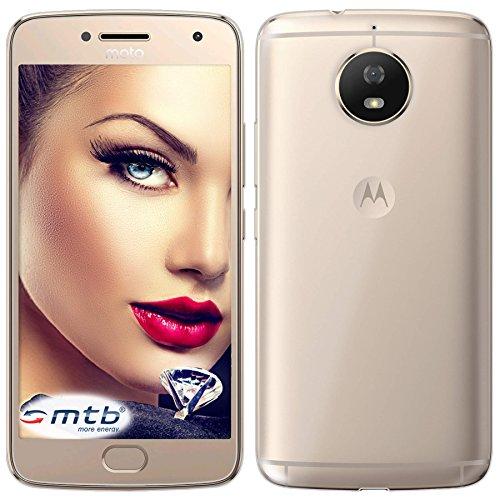 mtb more energy® Schutz-Hülle Clear und Slim für Motorola Moto G5S (XT1794, 5.2'') - transparent - flexibel - TPU Silikon Hülle Cover Tasche