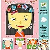 Djeco - Jeu Educatif - Créer avec Stickers - DJ08934