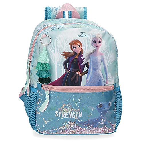 Frozen Mochila Find Your Strenght Adaptable, 25x32x12 cm, Azul