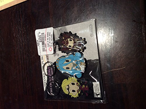 GameStop Exclusive Fire Emblem Fates Set of 3 Character Keychains