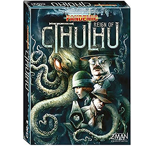 Pandemic Reign of Cthulhu Board Game | Family Board...