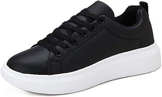 Huahuahuipin Women's Lace Up Fashion Sneaker Womens Black...