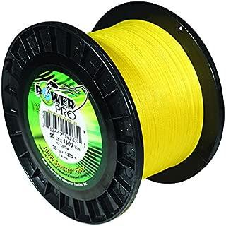 PowerPro Spectra Hi-Vis Yellow Braided Line
