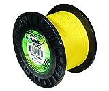 Power Pro 33400501500Y Maxcuatro Braided Fishing Line, 50 lb/1500 yd, Hi-Vis Yellow