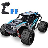YEZI 1:18 Scale Large RC Cars 46km/h+ Speed, 2.4Ghz All Terrain Waterproof Remote Control Truck,4x4 Electric Rapidly Off Road car for, Remote Control car for Kids Boys and Adults