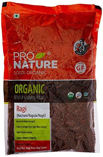 Pro Nature 100% Bio Ragi Millet, 500 g