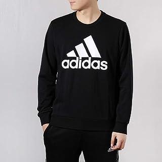 adidas 阿迪达斯男装 春季 运动服针织休闲防风保暖卫衣套头衫时尚圆领上衣