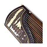 NOLOGO Qyzs-lj Guzheng, Massivholz-African Sandelholz Adler Skulptur, Palisander-farbige Zither, Profi-Graded-Beschriftungs-Zither, ethnische Orchester (Größe : 170 * 40 * 23CM)